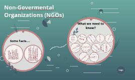 Non-Govermental Organizations (NGOs)