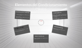 Elementos del Condicionamiento Clásico