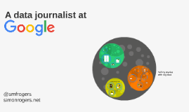 A data journalist at Google
