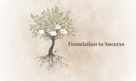 Copy of Copy of Foundation to Success