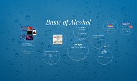 Basics of Alcohol