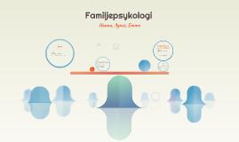 Familjepsykologi