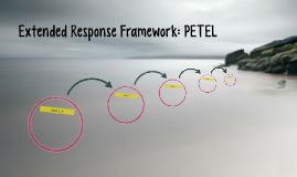Extended Response Framework