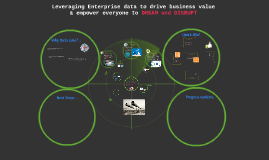 Leveraging Enterprise data to drive business value