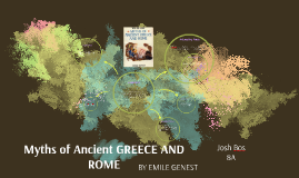 Copy of Myths of Ancient GREECE AND ROME