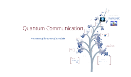 Quantum Comunication