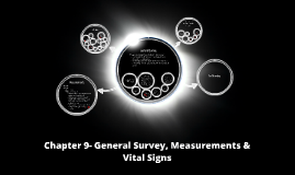 Chapter 9- General Survey, Measurements & Vital Signs