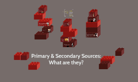 Primary & Secondary Sources: What are they?
