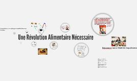 Une Revolution Alimentaire Necessaire