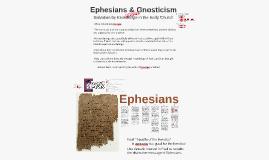 Ephesians Gnosticism lecture