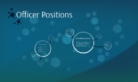 Officer Positions