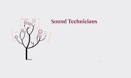 Sound Technician - Career Assingment