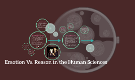 Emotion Vs. Reason in the Human Sciences