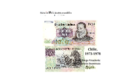 Copy of La implantación de un nuevo modelo económico (Chile, 1973-1977).