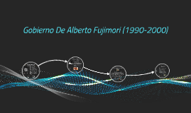 Copy of Gobierno De Alberto Fujimori (1990-2000)