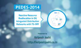 PEDES 2014 Presentation