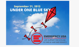 Under One Blue Sky-September 21, 2013
