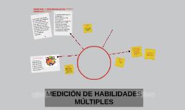 MEDICIÓN DE HABILIDADES MÚLTIPLES