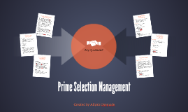 What is Prime Selection Management?