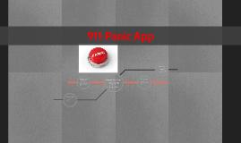 911 Panic App
