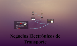 Copy of Negocios Electronicos de Transporte