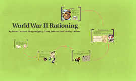 World War II Rationing