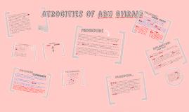 Copy of Atrocities Of Abu Ghraib
