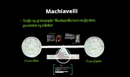 Machiavelli av Abdi Latif Aynaashe