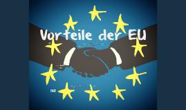 Vorteile EU