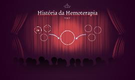 História da Hemoterapia