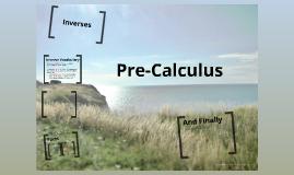 Precalculus - Inverses