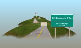 City Engineer's Office