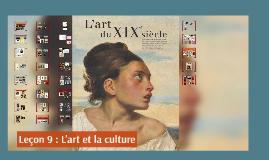 Séance 12 : L'art et la culture
