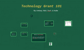 Technology Grant 101