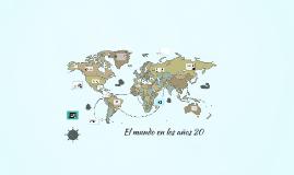 El mundo en los años 20