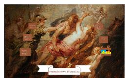 Persephone vs Proserpina