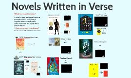 Novels in Verse