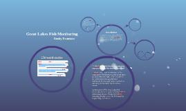 Great Lakes Fish Monitoring