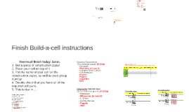Day 63b - Intro to Cell Theory (project gallery walk)
