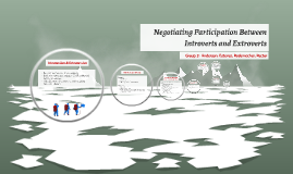 Negotiating Participation Between Introverts and Extroverts