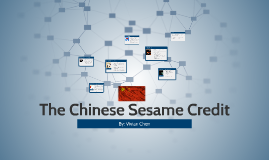 The Chinese Sesame Credit