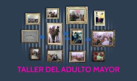 Empezamos un taller dirigido a la población de adultos mayor