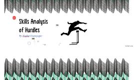 Skills Analysis of Hurdles