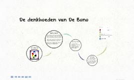De denkhoeden van  De Bono