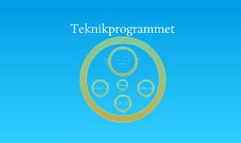Teknikprogrammet, samtliga inriktningar