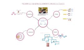Teoria do desenvolvimento bioecológico