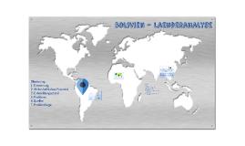 Bolivien - Laenderanalyse