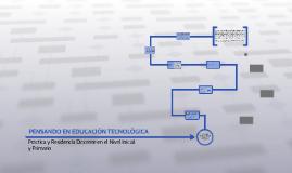 PENSANDO EN EDUCACIÓN TECNOLÓGICA