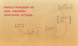 Copy of MODELO PEDAGÓGICO DEL SENA: FORMACIÓN PROFESIONAL INTEGRAL.