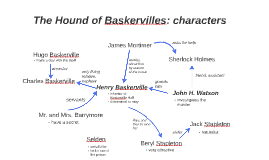 The Hound of Baskervilles: characters